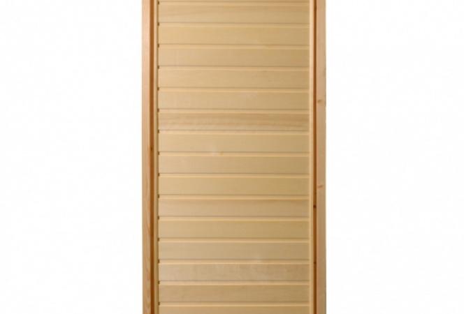 Дверь банная глухая с коробкой 40x700x1700